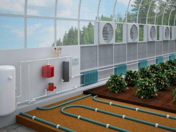 Системы отопления для теплиц: виды и описание