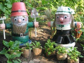 Садовые фигуры – изысканное дополнение декора