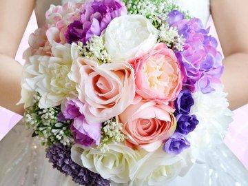 Цветы для свадебного букета: как подобрать