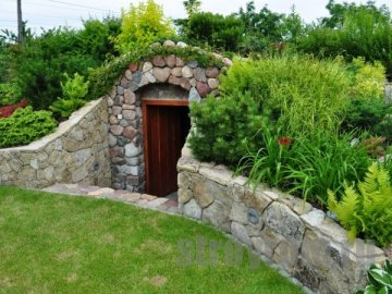 Подземное овощехранилище