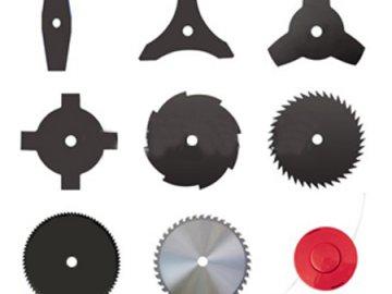 Тип двигателя и режущие элементы