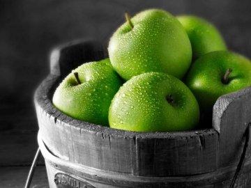 Яблоки зеленые сорта