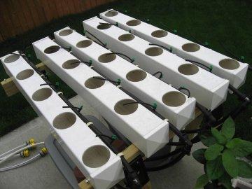 Гидропонная установка для выращивания укропа
