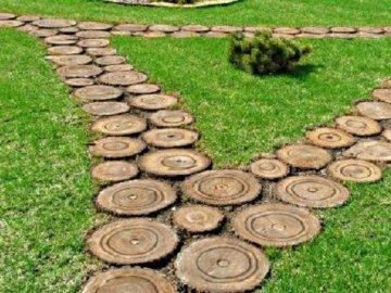 Идеи создания садовых тропинок