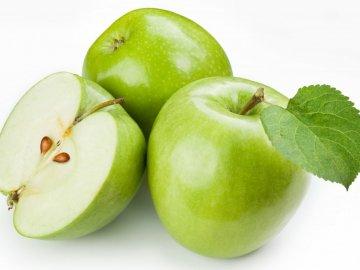 Зимние виды зеленых яблок