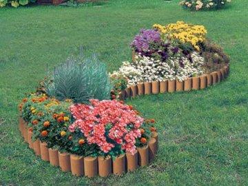 Правила размещения цветов на клумбе