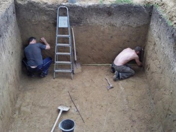 Подготовка места для постройки