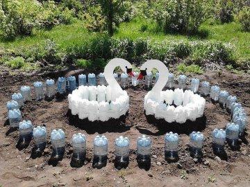 Интересные идеи для дачи из пластиковых бутылок