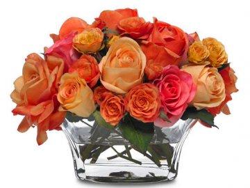 Как оживить розы