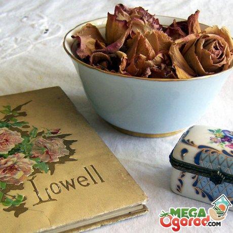 Идеи применения сухих лепестков роз в косметологии, изготовлении подарков