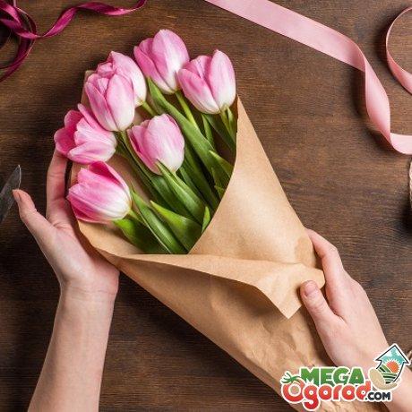 Правила составления букетов из живых цветов