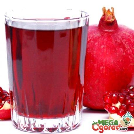 Гранатовый сок - кладезь витаминов