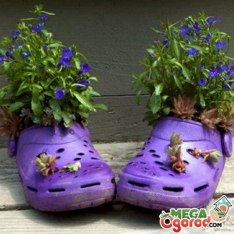 Как использовать старую обувь
