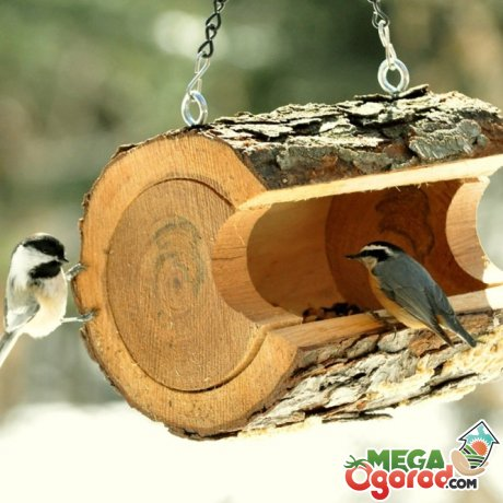 Покормим птиц – оригинальные кормушки