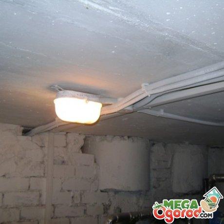 Освещение и вентиляционная система