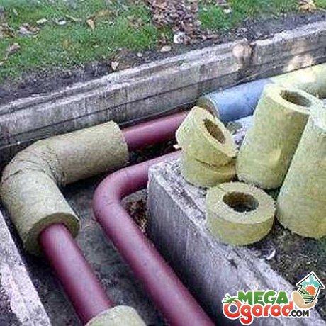 Общие рекомендации по утеплению водопровода