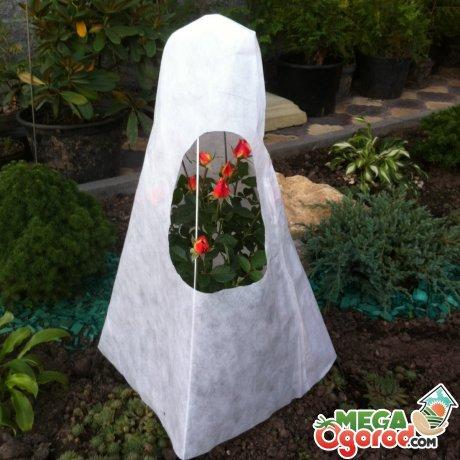 Зимний домик для кустовых роз